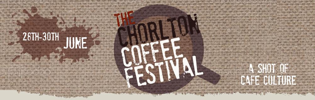 Chorton Coffee Festival 2013 Logo